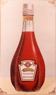 Heinz first introduced the gherkin on the 'Imperial-style' bottle it launched in 1895.