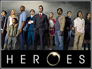 The hit new show 'Heroes' attracted 6.9 million viewers last week.