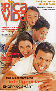Almost 2 million copies of the new three-times-a-year publication 'Que Rica Vida' will be mailed to consumers or given away by retailers in top Hispanic markets.