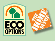 Home Depot has clearly taken the opportunity to be first to market with a label and is the first major retailer to seize on the surge in consumer concern about greenhouse-gases emissions. | ALSO: Comment on this story in the 'Your Opinion' box below.