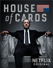 Netflix will begin offering 'House of Cards' on Feb. 1.