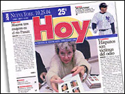 The New York edition of 'Hoy' will remain a free daily but its editorial will be overhauled to become more of a local paper.