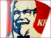 KFC's Col. Sanders was named the year's favorite brand icon at the Advertising Week annual awards presentation in Times Square.
