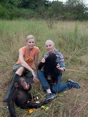 Iconoclasts: Charlize Theron and Jane Goodall