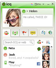 AOL has sold ICQ to Russian investment firm Digital Sky Technologies for $178.9 million in cash.