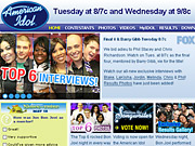 Fox's AmericanIdol.com dominates the web like its broadcast counterpart rules the airwaves.