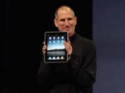 Steve Jobs introduces the Apple iPad.