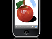 The Brushes iPhone app became more popular after being used to illustrate a New Yorker cover.
