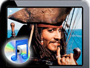 'Pirates of the Caribbean,' 'Cars' and 'The Sixth Sense' are some of the first movies to be made available for download on Apple iTunes.