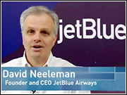 Speaking on CNN's 'American Morning,' JetBlue CEO David Neeleman said 'We had a weakness, we're going to fix it, we're going to be better than ever.'