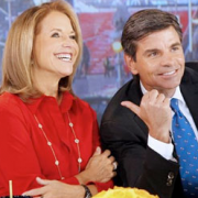Katie Couric and George Stephanopoulos on 'GMA'