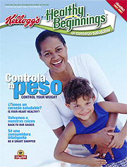 Kellogg's Healthy Beginnings magazine was created in Spanish and then adapted into English.