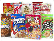 Kellogg said it would advertise only foods that fit a particular nutritional profile in any medium that gets more than 50% of its audience from kids under age 12.