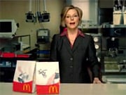 Karen King appears in McDonald's new spot. Ms. King joined the chain 30 years ago in Lawrenceville, Ga., and today manages some 5,000 restaurants.