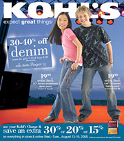 Kohl's said that due to higher overall media costs, it will invest in what it views as more productive media, and that print insertion will decline as a percent of expenditures.
