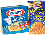 Kraft pointed to Mac N' Cheese, Kraft cheese and processed meat as contributors to increased sales.