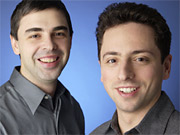 Google's Larry Page and Sergey Brin are facing upstarts such as Wikia and ChaCha that are looking for a piece of the search market.