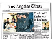 The second-largest shareholder in Tribune Co., publisher of 'The Los Angeles Times,' said the 2000 merger with Times Mirror has been 'disastrous.'