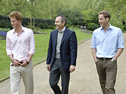 Morning man Matt Lauer jumped into prime time for his 'Dateline' interview with Princes William and Harry.