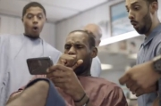 LeBron's Day with the Samsung Galaxy Note II