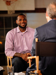 ESPN said that LeBron James' announcement, 'The Decision,' was the highest-rated program of the night on either cable or broadcast TV.