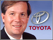 Toyota sales and marketing exec Jim Lentz said U.S. automakers could see annual sales jump to as high as 18 million units in the next decade, due to a population boom and a slew of new models