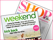 'Weekend' and 'Shop, Etc.' were both imitators, aimed at duplicating the successes of rivals 'Real Simple' and 'Lucky.' Neither found the sweet spot.   ALSO: Comment on this column in the 'Your Opinion' box below.
