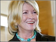Martha Stewart has something to smile about again.