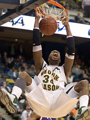 During George Mason University's improbable run to the Final Four in last year's men's tournament, its success on the court and the subsequent national TV and print coverage resulted in a whopping windfall in the aftermath.