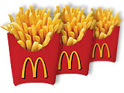 Children aged 3 to 5 thought McDonald's fries tasted better when they came in the marketer's packaging.