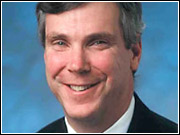 Marketing exec Mark McNabb replaces Keith May as VP-sales.