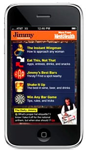 With the Jimmy the Bartender app, you can submit your own drink recipes for other users to rate.