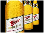 Crispin was the agency of record for Miller Lite and Miller High Life.