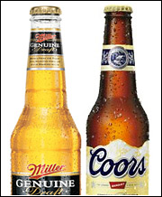 While MillerCoors will boast a 29% share of the U.S. market, the combination would still be significantly smaller than Anheuser-Busch, which holds a 49% share of the market.
