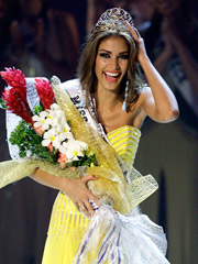The ratings for the 'Miss Universe Pageant' were down 20% from last year, but still good enough to win the two-hour timeslot for NBC.