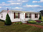 New mobile homes sold for an average of $64,000 late last year vs. a median price of $235,000 for a newly built house.