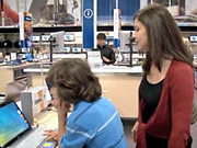 Microsoft's 'Laptop Hunters' campaign paints rival Apple as pricey.