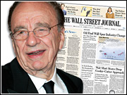 Skeptics say Rupert Murdoch's acquisition of The Wall Street Journal could make that publication less credible to much of its audience.