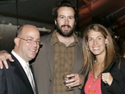 Jeff Zucker, Jason Lee and Caryn Zucker
