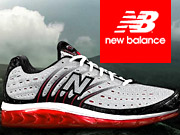 New Balance is looking to keep pace with Nike.