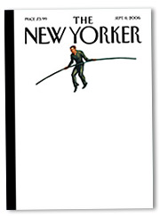 The New Yorker's winning cover