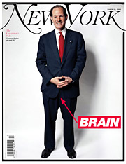 This New York magazine cover was nominated in three different categories, including Cover of the Year, in ASME's best-covers contest.