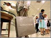 Nordstrom reported a hefty 9% jump in same-store sales this December on sales of $1.2 billion. Other luxury department-store channels also beat December sales averages by a wide margin.