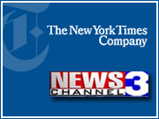 The New York Times Co. is putting its broadcast media group of nine regional TV stations up for sale.