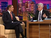President Obama's appearance on 'The Tonight Show' on NBC generated the program's best ratings since 2005.