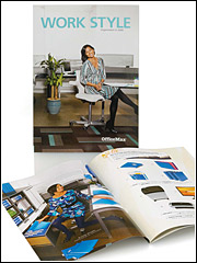 OfficeMax direct mail promo booklet