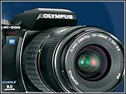 Olympus trails rivals Canon, Sony and Kodak in the U.S. for digital cameras.