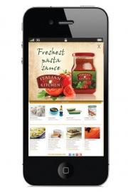 Italian Kitchen iPhone app