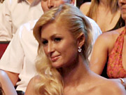 Paris Hilton was the butt of more than one joke.