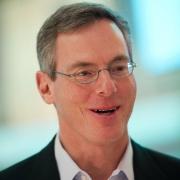 Paul Jacobs speaks at the 2013 CES Las Vegas.
